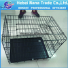 Decorative folding metal wire dog cages /folding pet house dog cage