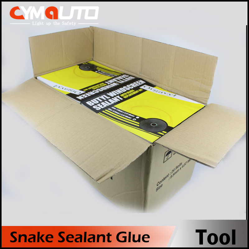 CYMAUTO car retrofit headlight butyl snake glue/ Butyl OCI sealant /USA snake sealant