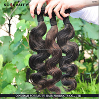 Unprocessed 100% Remy Brazilian Human Hair High Quality Natural Color Trio Brazilian Body Wave