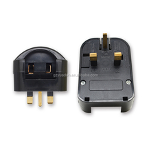 Alibaba china religious germany to uk adapter plug high-current power gs to UK plug