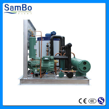 30 Ton Industrial Ice Plant Flake Ice Machine With CE and 2 Years Guarantee