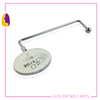 New wholesale custom purse bag hanger holder hook in unique metal designs