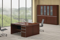 WORKWELL Evecutive Wooden I Shape Office Desks S4-143B