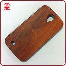 High Quality Dark Walnut Natual Bamboo Hard Real Wood Phone Case for Samsung Galaxy S4