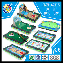 2017 hot new autism products small billiard table import toys china