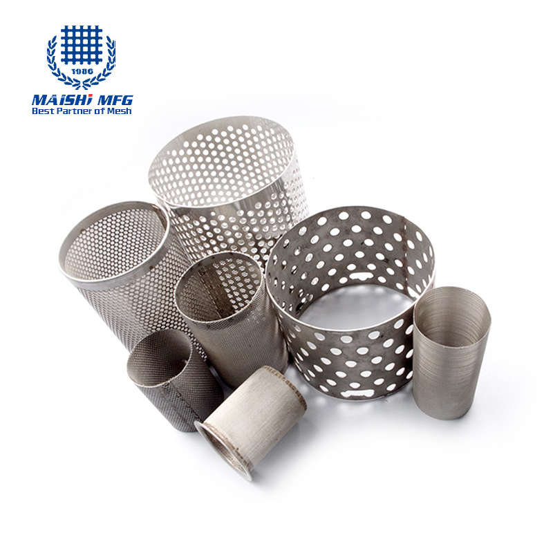 stainless steel wire mesh deep processing filter disc