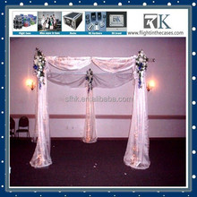 Hot Sale Pipe and Drap Steel Stands with Elegant Fabric for Photo Booth, Pipe & Drape Have Promotion Now