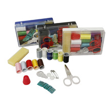 Easy to carry professional mini plastic sewing kit for adult