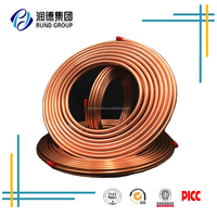 Meter price copper pipe various size air conditioner copper pipe