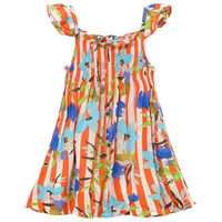 2015 New products hot sale colorful sleeveless onepiece dress wholesales