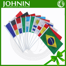 Promotional international hand flags cheering hand with flag printing