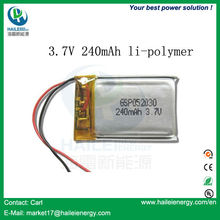 UL approved high capacity 5v li ion polymer battery