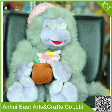 HOT SELLING MANUFACTURER PRODUCT STRETCH PLUSH MONKEY STUFFED TOY FOR KIDS DECORATION