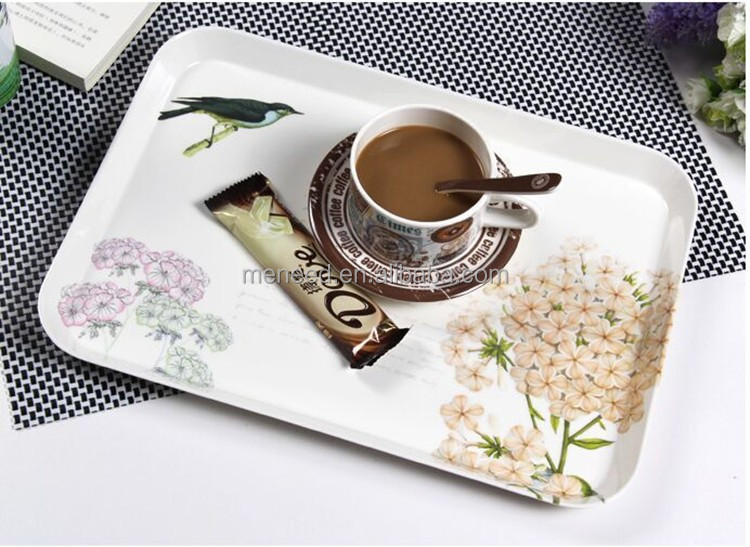 Design custom print wholesale food serving trays