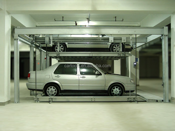 Automated Multi-level lift and slide parking system