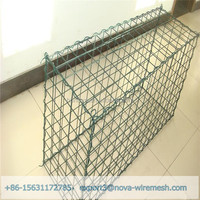 Strong And Fine Price Galvanized Welded mesh Gabions / Gabion Cages