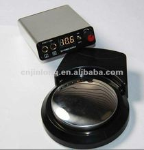 Wireless Tattoo Power Supply Including: A Tattoo Power Supplier, A Foot Switch, A clip