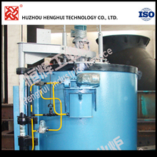 All fiber 90KW Well type carbonization furnace for carbonitriding heat treatment