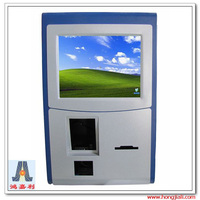 High Quality Wall Mounted Payment Kiosk with Cellphone Customized Wall Mounted Self payment ATM Kiosk