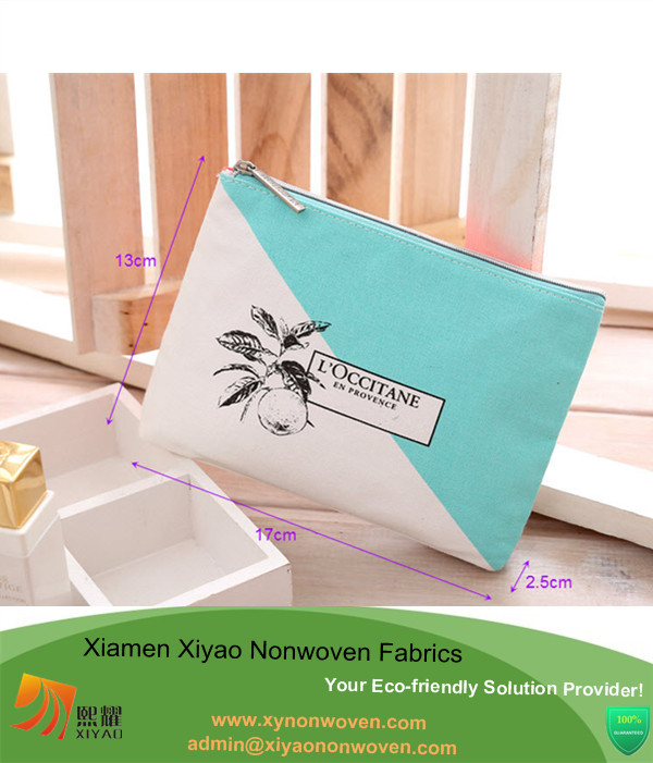 Wholesale Canvas cosmetic Bag Custom Purse Phone Pouch Pencil Cases