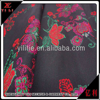 Woven cotton jacquard textile stocklot fabric in China