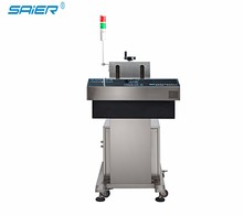 Chinese manufacturer plastic/composite/foil continuous bottle sealing machine