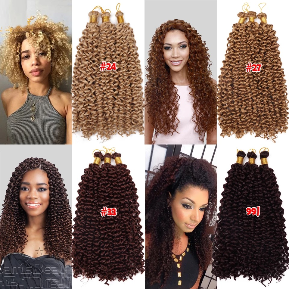 "18"" 105g 30strands havana Senegalese Twist Hair Synthetic Crochet Braids Hair Extensions Freetress Crochet senegalese twist croc"