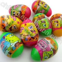2016 Plastic Candy Toy / Surprise Egg Toy Candy For Promot