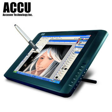 ACCU 17 inches wide screen toch Tablet Monitor 1701w,digital drawing writing pad
