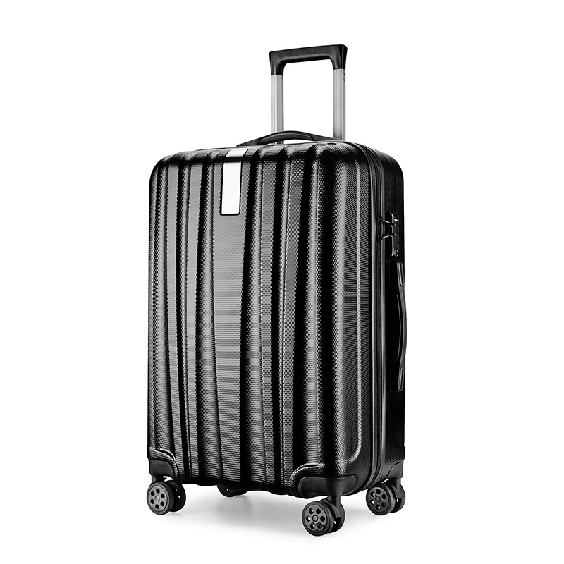 popular cool quality travel trolley hard side shiny business luggage