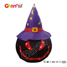 Happy Halloween Decoration Inflatable Pumpkin Halloween Pumpkin with LED lights inside