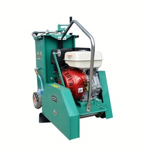 7inch walk behind road cutter saw concrete cutting machine