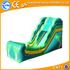 Tropical theme giant inflatable slide, summer game inflatable water slip slide