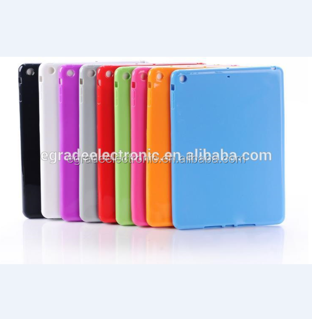 factory wholesale New back cover case TPU bumper case for iPad Mini /2