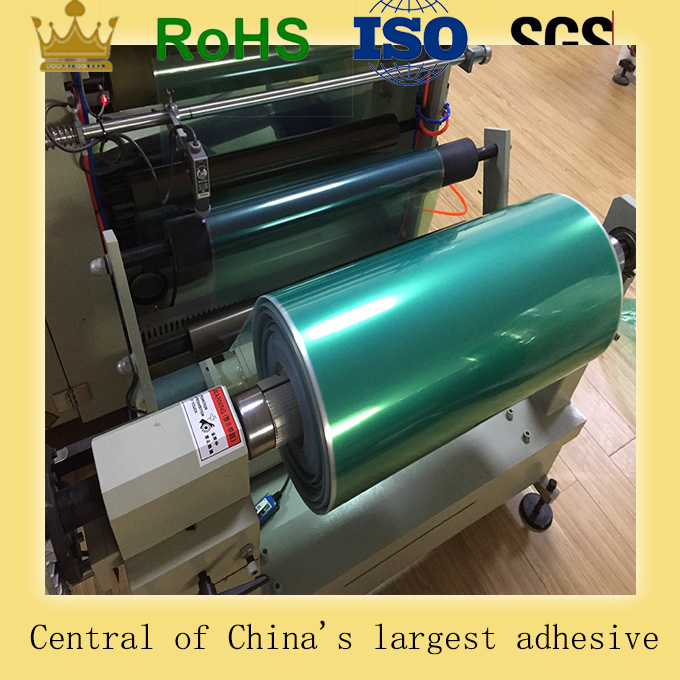 Green PET Polyester Powder Coating Adhesive Tape Plant