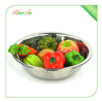 Wholesale Stainless steel colander / rice colander / sink colander