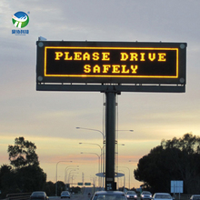 outdoor highway led road variable message signs led message board vms