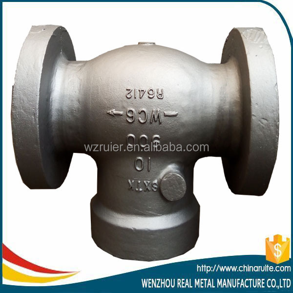 Cast ANSI A216 Carbon Steel Gate Valve casting
