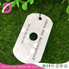 Car hanging fresh and elegant fragrance optional air freshner card