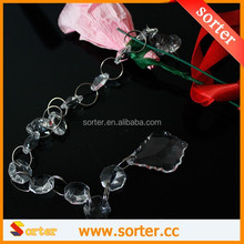 Hot sale crystal bead chain curtain for wedding & event decoration