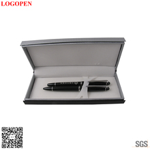 Customized Printed business card holder and pen gift set