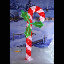 New arrival Christmas decoration lighted candy canes