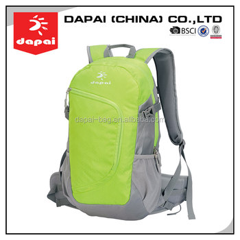 Bulk Production Casual Sports PU Hydration Pack Backpack