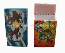 Simple Plastic 20pcs Cigarette Case