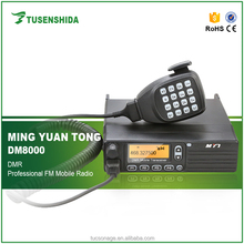Professional DM8000 powerful handheld mobile two way radio with CTCSS/DCS/VOX function portable car woki toki