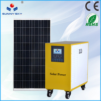small 220v solar power system home use/small solar energy products with solar light TY-080A