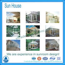 Aluminum Sunroom With Windows And Door For House