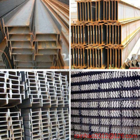 ss400 hot rolled iron carbon structural mild i-beam standard length
