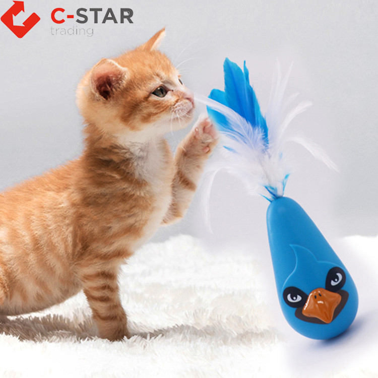 Good reputation high quality interactive cat toy bird