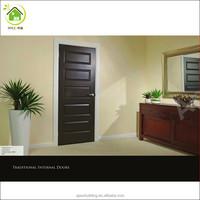 black walnut veneer doors design bedroom door design